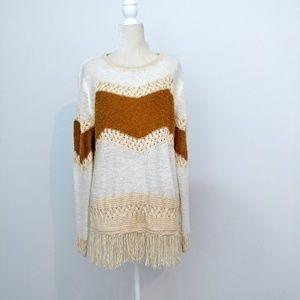 Umgee warm sweater size large